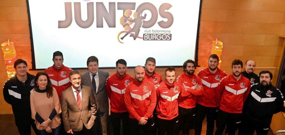 La Fundación Caja de Burgos y el Club Balonmano Burgos llevan el programa de inclusión social 'Juntos' a El Plantío