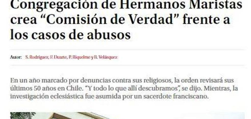 Un religioso burgalés, acusado de abusos sexuales a estudiantes en Chile