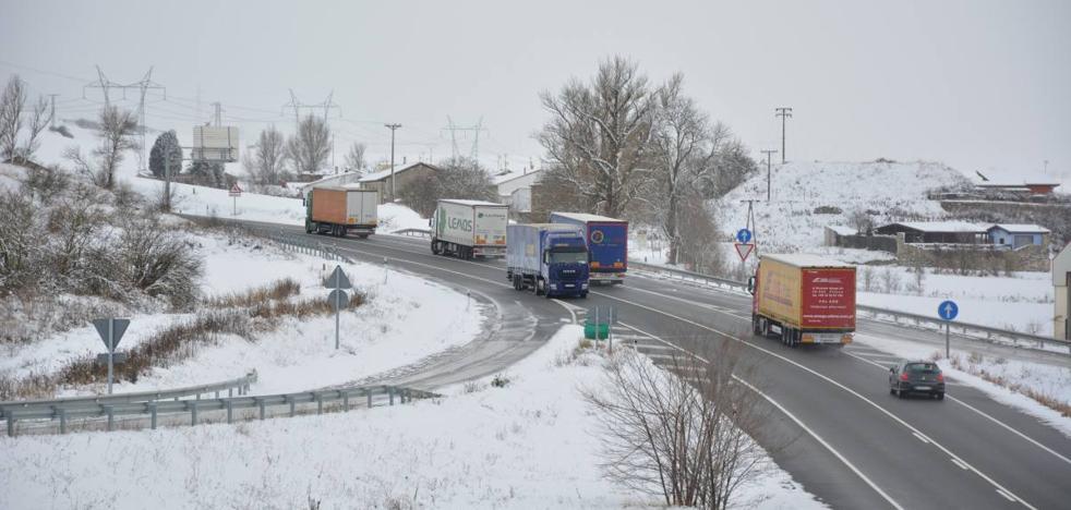 Previsión de nevadas y fuertes rachas de viento en toda la Comunidad salvo Valladolid