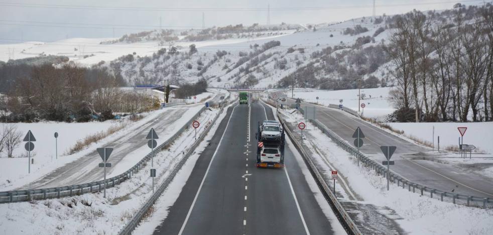 Protección Civil confirma el aviso por nevadas en toda la comunidad autónoma