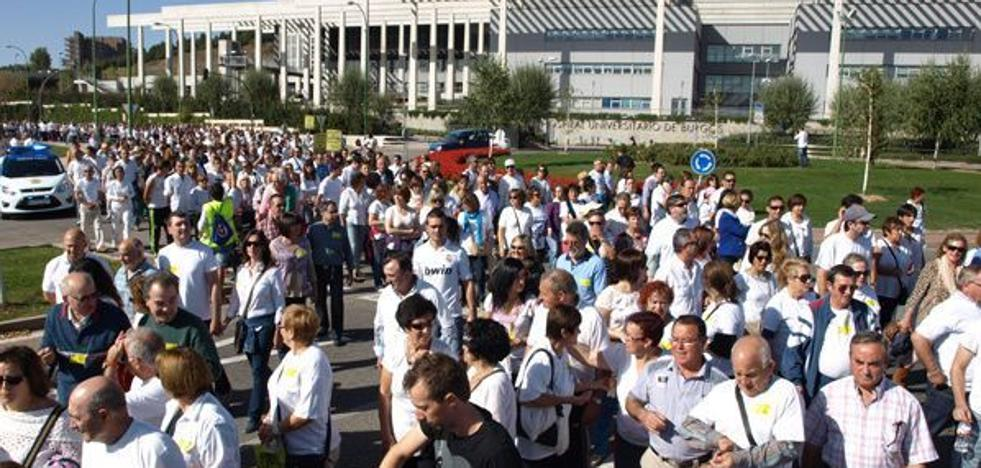 Burgos se moviliza contra la «actitud complaciente» de la Junta ante una sanidad deficiente