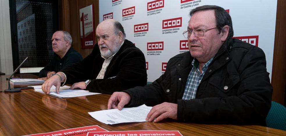 CC OO retoma este jueves la movilización en defensa las pensiones públicas