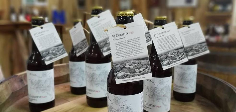 Una cerveza hecha con uva de Ribera del Duero se presenta en Fitur