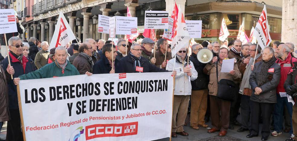 CC OO se manifiesta en defensa del sistema público de pensiones