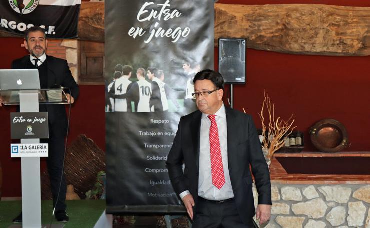 Presentación de la Fundación del Burgos CF