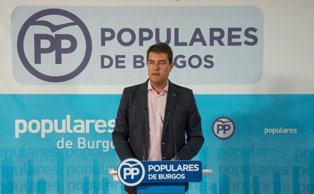 Ángel Ibáñez critica que Tudanca «venga a Burgos a reírse de los arandinos»