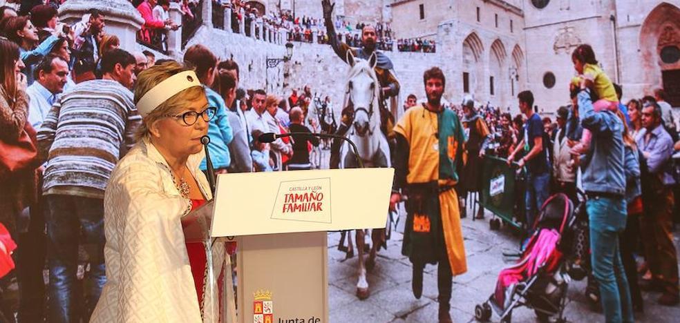 Lacalle destaca la «acogida extraordinaria» de Burgos en Fitur