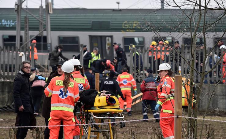 Siniestro mortal en Milán
