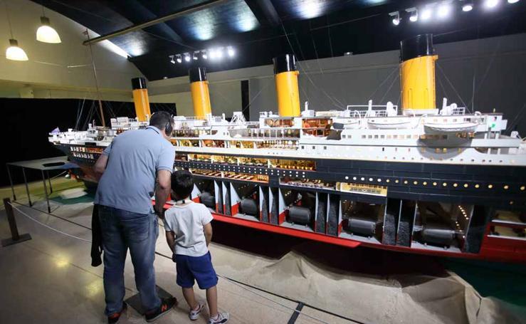 Adelanto de la exposición sobre el Titanic