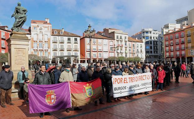 Manifestación de hoy por el Tren Directo/CLR