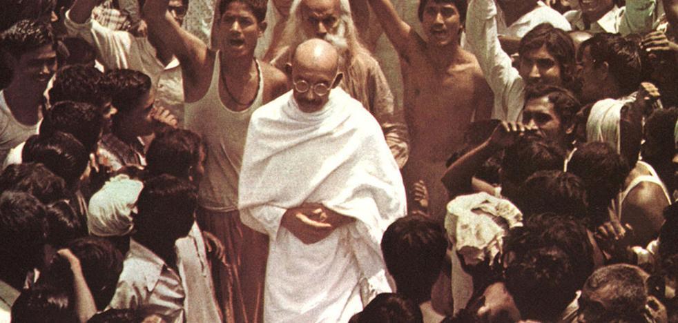 El film 'Ghandi', el miércoles en el Foro Solidario