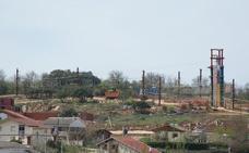 Las obras del Parque Multiaventura de Valdeporres afrontan su recta final
