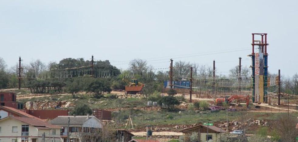 Valdeporres licita la gestión del Parque Multiaventura y confía en abrirlo a principios de año