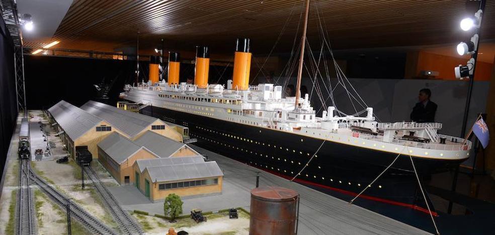 La mayor reconstrucción del Titanic se expone desde el jueves en el Fórum Evolución