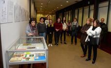 Los dibujos de 'El Camino' recalan en Burgos «para que los escolares sigan aprendiendo» con Delibes
