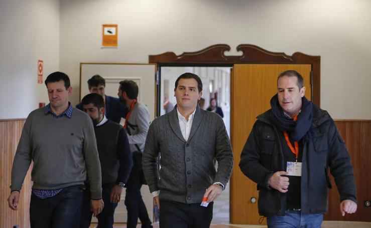 Campus Joven de Ciudadanos con Albert Rivera en Salamanca
