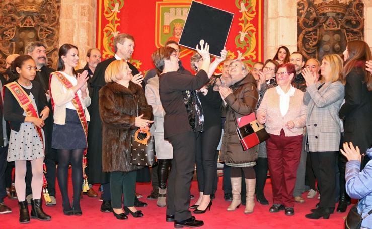 La Schola Cantorum recoge el Báculo de Oro de San Lesmes