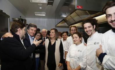 Alumnos del Basque Culinary Center, de visita en Cascajares