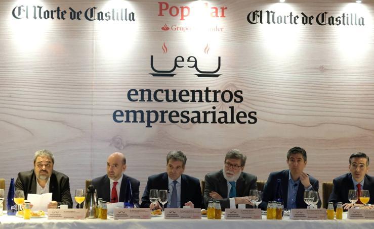 Encuentro empresarial organizado por Banco Popular y El Norte de Castilla