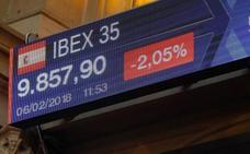 El Ibex-35 sufre su mayor caída desde octubre y vuelve a los niveles de marzo de 2017