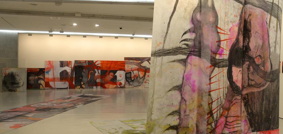 El CAB acoge las exposiciones de Javier Riera, Asunción Molinos Gordo y Susana Talayero