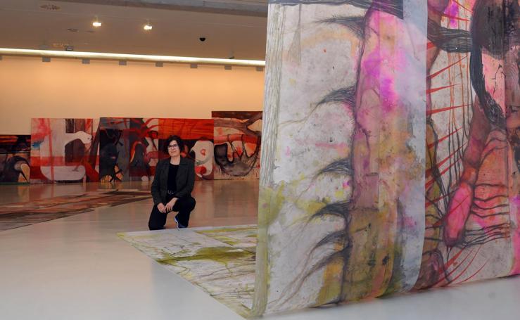 Inauguradas tres exposiciones en el CAB