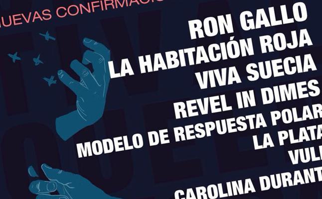 Ebrovisión amplía su cartel con Ron Gallo, La Habitación Roja o Viva Suecia