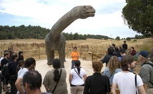 El turismo de «dinosaurios» deja un impacto económico de 2 millones en La Demanda