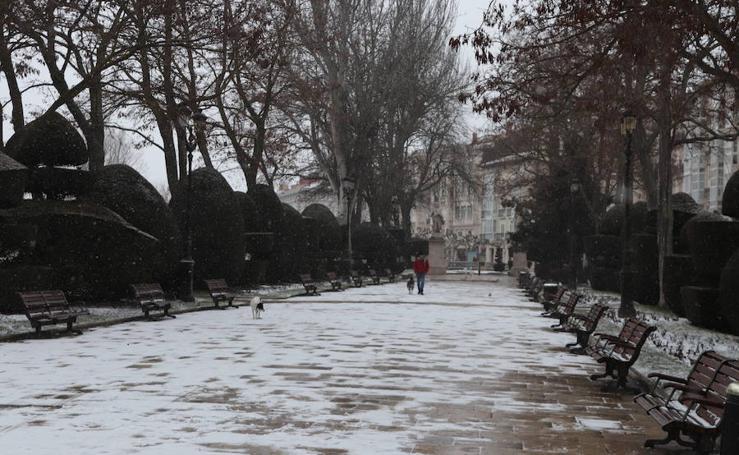 La nieve vuelve a cubrir Burgos