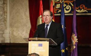 Juan Vicente Herrera considera el patrimonio un factor clave contra la despoblación