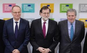 Rajoy reivindica el patrimonio como instrumento de desarrollo de Europa