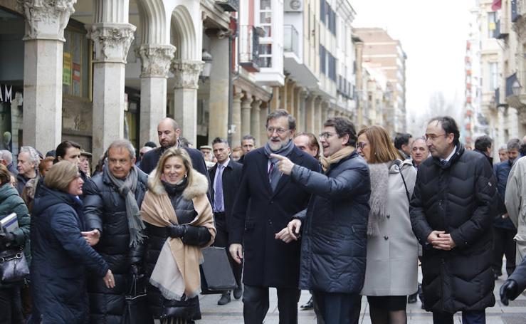 Visita de Mariano Rajoy a Palencia