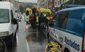 Un varón de 73 años es atropellado por un autobús en la Calle Madrid