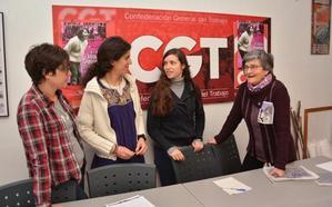 CGT hace un llamamiento a la participación masiva en la huelga feminista del 8 de marzo