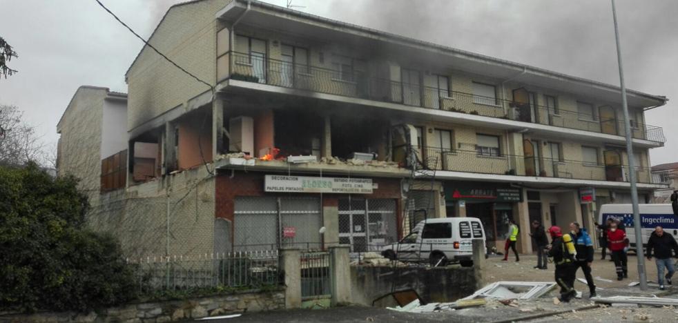 Cuatro heridos en una explosión en una vivienda en Villasana de Mena
