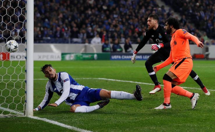 Los mejores momentos del Oporto-Liverpool, en imágenes