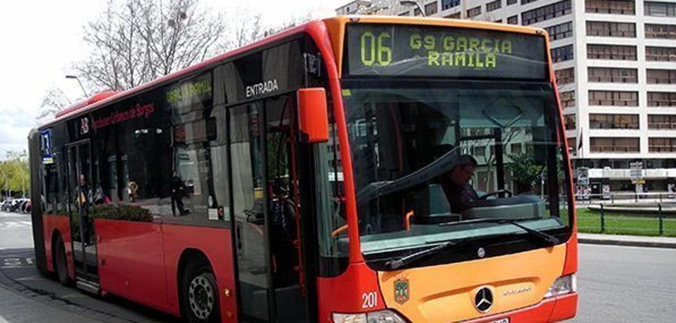 Autobuses hará más accesibles dos paradas en Eladio Perlado y una en Villafría