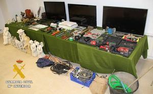 Esclarecidos otros 18 robos vinculados a la Operación 'Mollo'