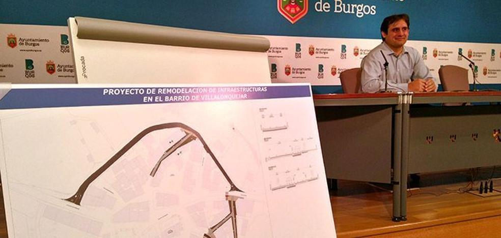 La remodelación del barrio de Villalonquéjar arrancará la próxima semana