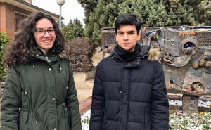 Dos alumnos del Liceo Castilla, becados por la Fundación Amancio Ortega
