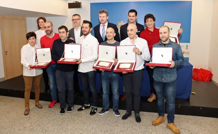 Premiados en el XII Concurso de Tapas de San Lesmes