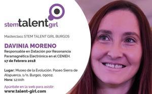 Davinia Moreno protagonizará mañana el Stem Talent Girl del Museo de la Evolución