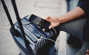 Las maletas inteligentes tienen problemas para viajar