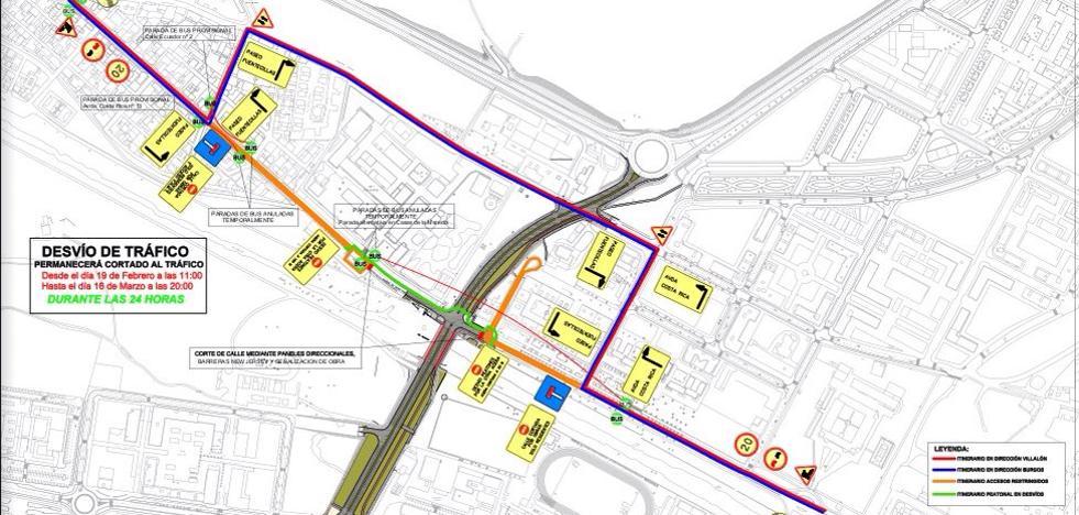 El Paseo de Fuentecillas se cortará al tráfico el lunes 19