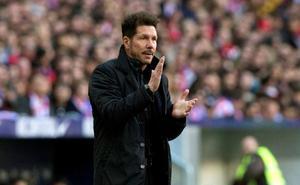 Simeone: «El camino es querer ganar siempre y estar unidos»