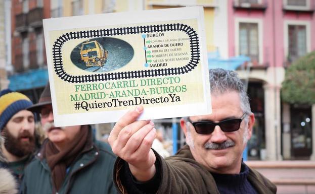 La reivindicación se escenifica todos los sábados en la Plaza Mayor de Burgos/PCR