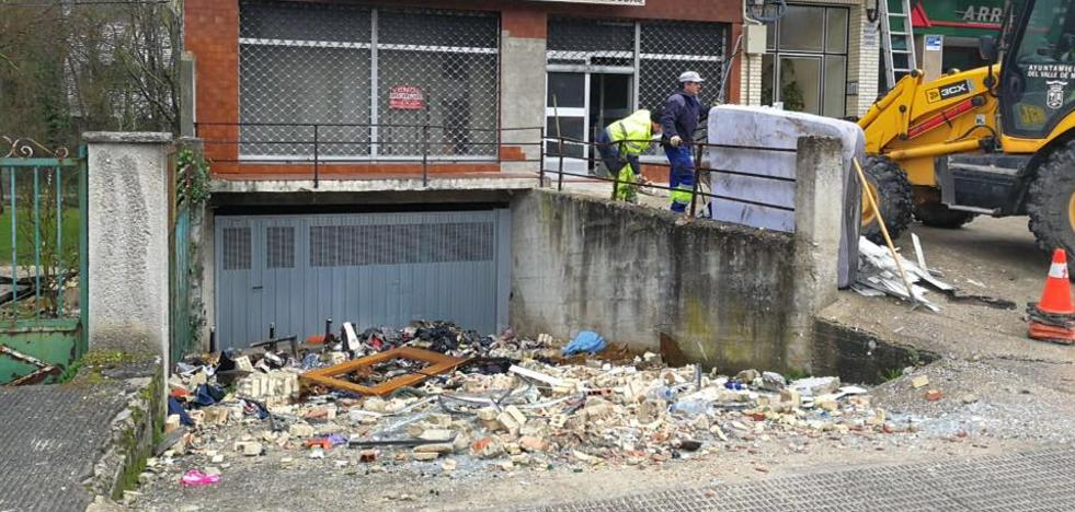 Los vecinos afectados por la explosión de Villasana podrían entrar hoy a recoger sus pertenencias