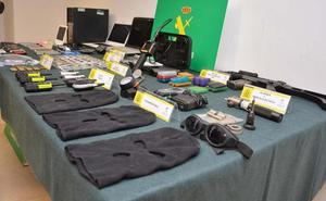Desarticulado el grupo criminal que atracó una sucursal bancaria en Arija