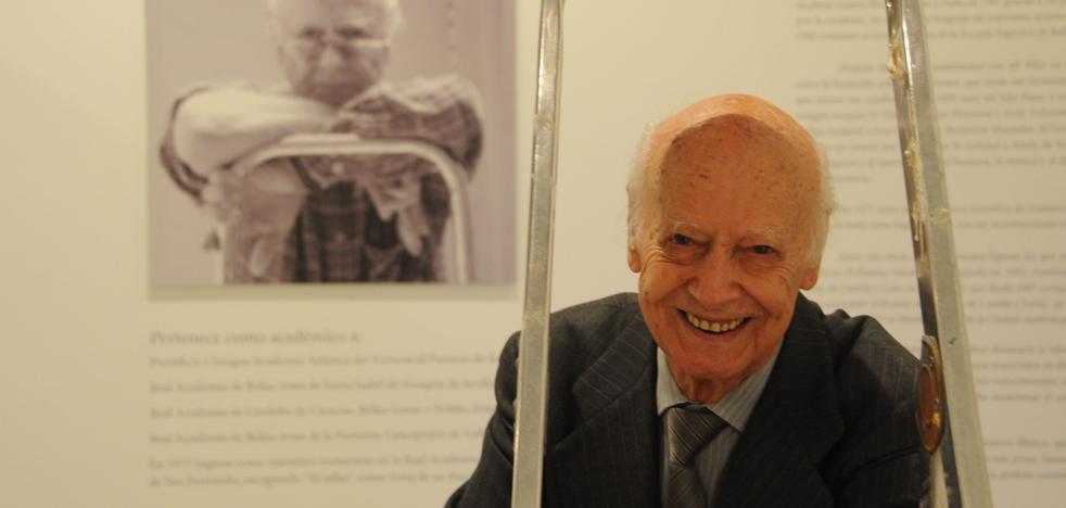 Fallece el escultor salmantino Venancio Blanco a los 95 años