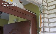 Detenido un hombre que robó 20.000 euros en material en una vivienda de Las Merindades